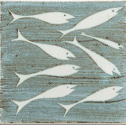 Whitebait Design Tile by Neil Tregear