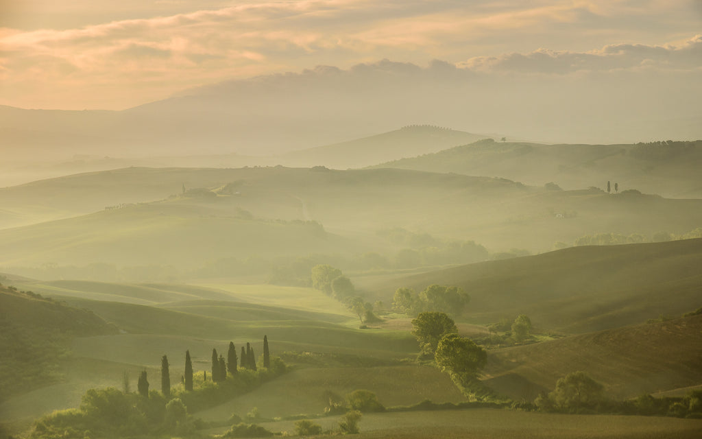 Val d'Orcia Dawn by Nigel Cox