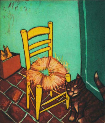 Mychael Barratt Van Gogh's Cat