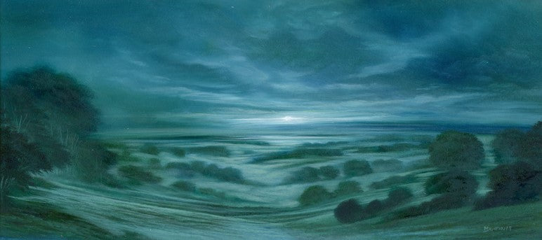 First Light - original oil on board by Mark Duffin