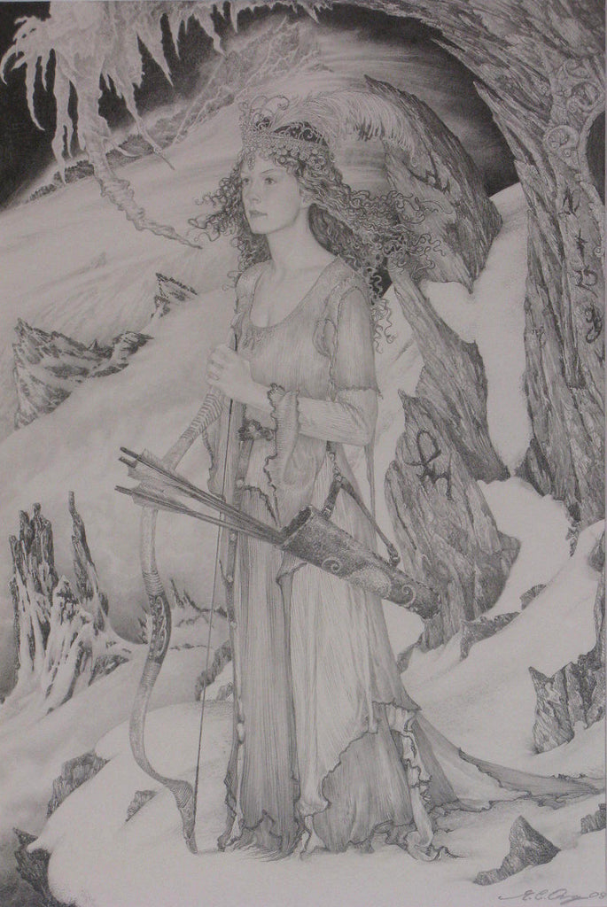 The Watch on Gondolin - Original Drawing by Ed Org