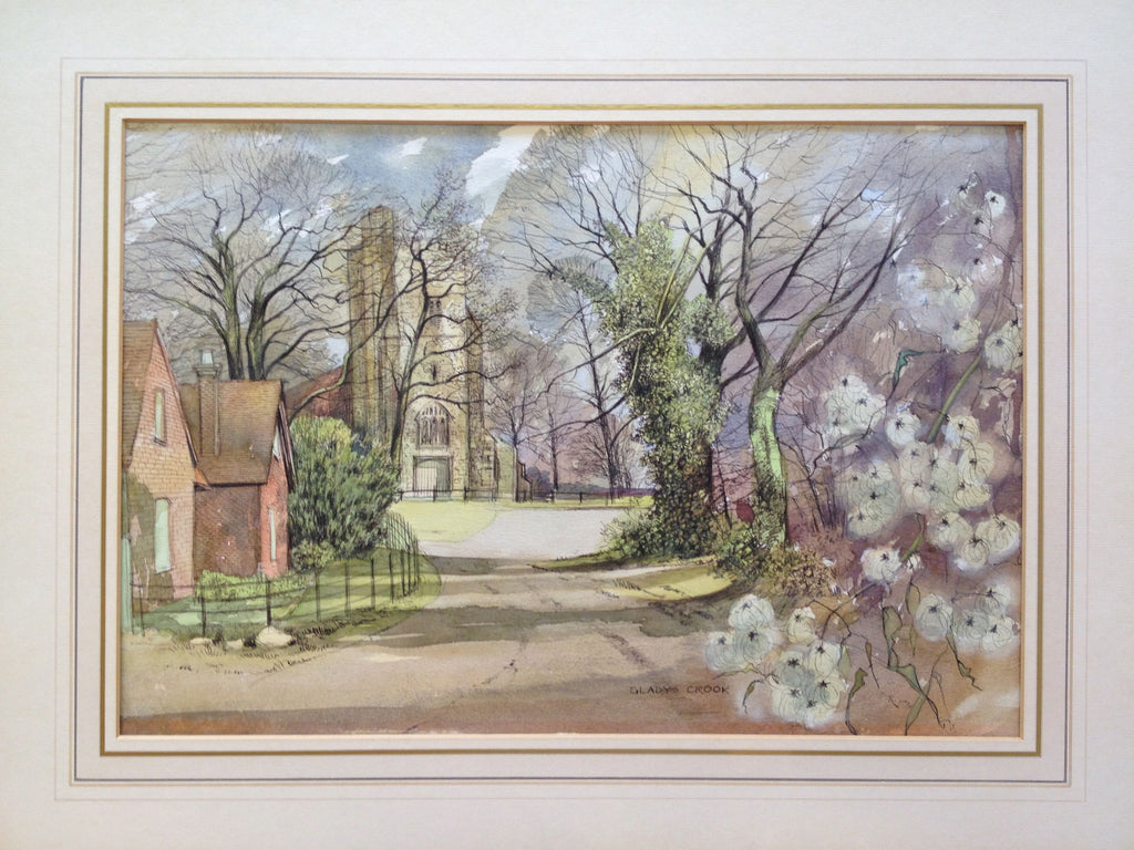 Weston Turville, Church by Gladys Crook
