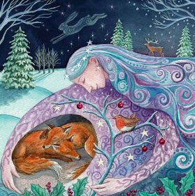 Winter Mother Protection by Wendy Andrew