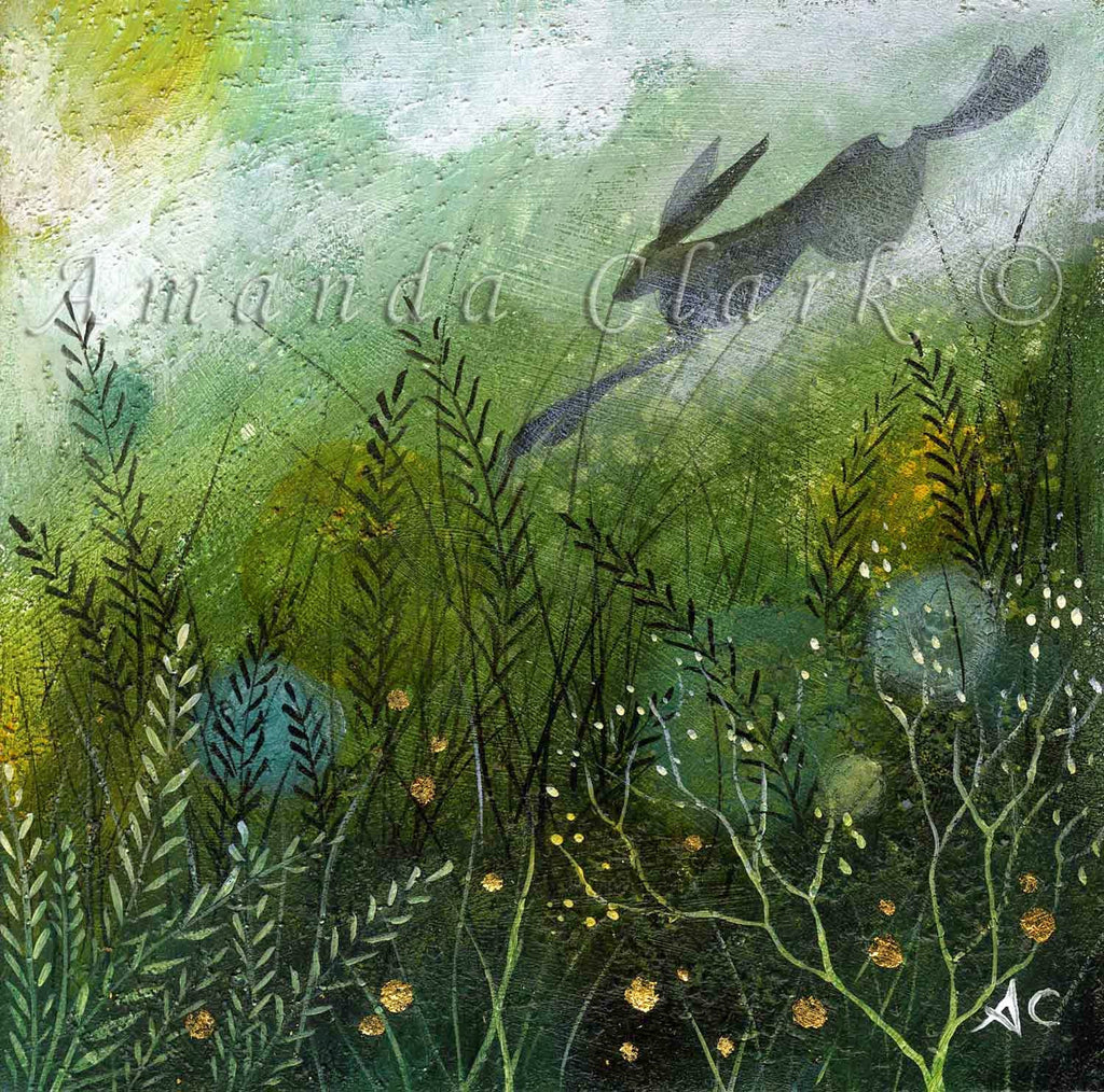 Among the Emerald Fields by Amanda Clark