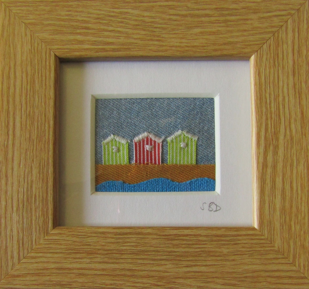 Beach Huts by Catherine Bell