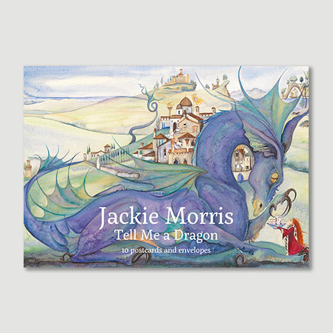 """Tell Me a Dragon"" postcard pack by Jackie Morris"