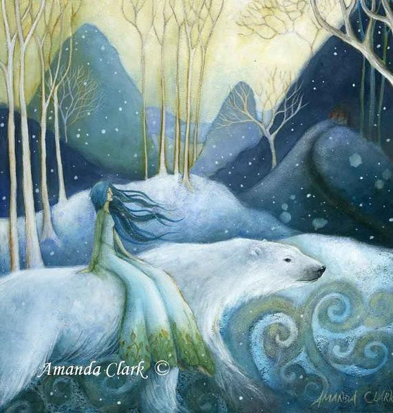 East of the Sun, West of the Moon by Amanda Clark