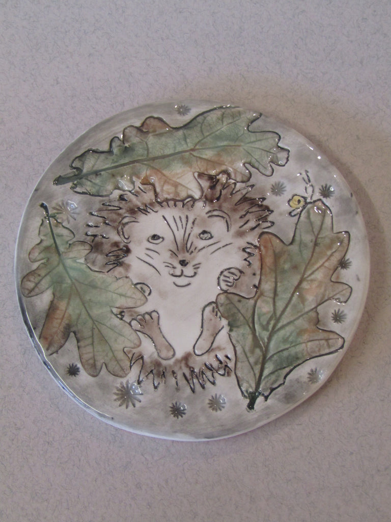 Hedgehog Nesting Coaster by Stephanie Beasley