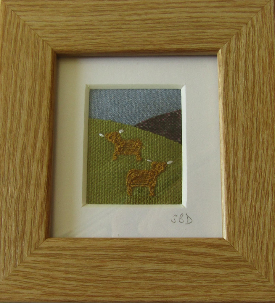 Highland Cows by Catherine Bell