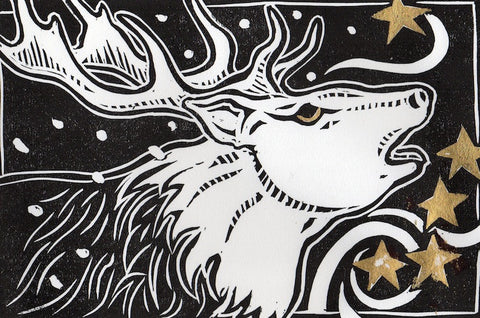 Kroinos Shook the Snow from his Antlers, and thus Created the Stars