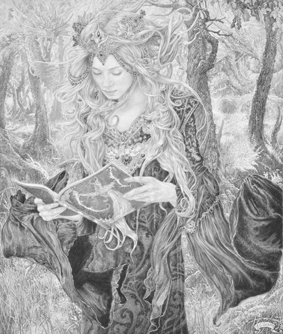 Morgana Le Fay - Original Drawing