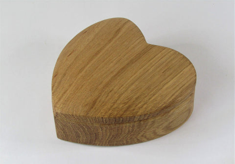 Small Wooden Heartfelt Box