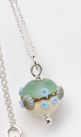 Sea Spray Round Pendant by Julie Fountain