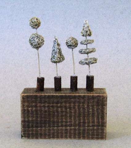 Mini Topiary by Sarah Jane Brown