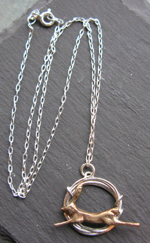 Hare Hoop Necklace - Xuella Arnold
