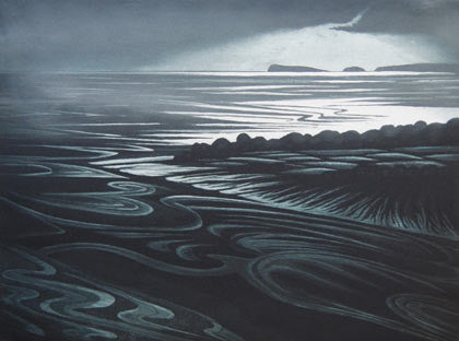 Taf Estuary by Morna Rhys