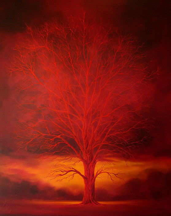 The Red Tree by Mark Duffin