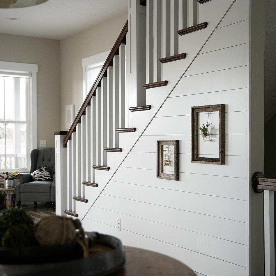 Diy Shiplap White Wood Planks Online Usa Ninth And Vine