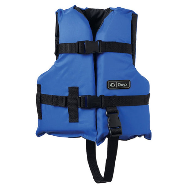 Onyx General Purpose Child Life Vest Blue/Black