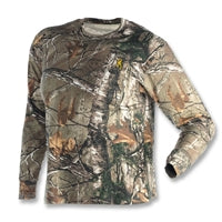 Browning Wasatch Long Sleeve Camouflage T-Shirt Realtree Xtra
