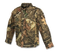 Browning Jr Wasatch Youth Button-Up Camouflage Shirt