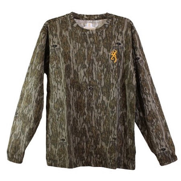 Browning Wasatch-CB Camo Long Sleeve T-Shirt