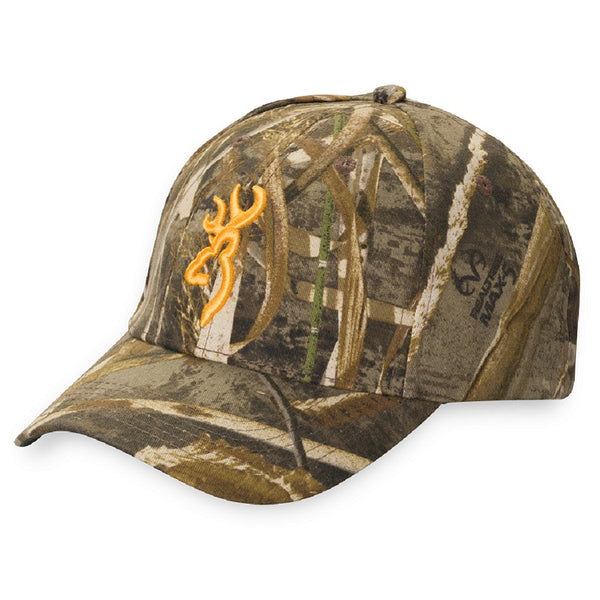 Browning Rimfire Camouflage Cap with 3-D Buckmark