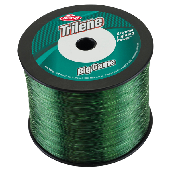 Berkley Trilene Big Game Monofilament Fishing Line - 1/4 Lb Spools - Green