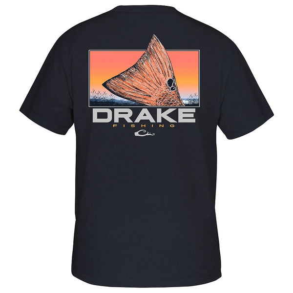 Drake Performance Fishing Red Tail S/S T-Shirt