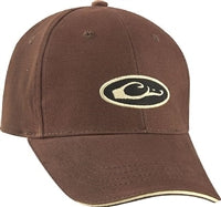 Drake Waterfowl 6-Panel Formed Oval Logo Cap