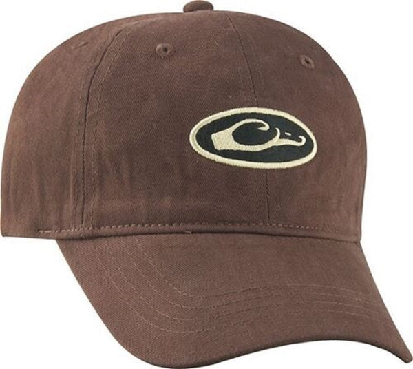 Drake Waterfowl 6-Panel Unformed Oval Logo Cap