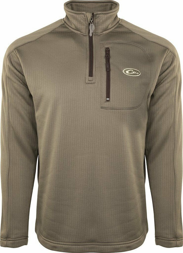 Drake Waterfowl Systems BreathLite 1/4 Zip Pullover Jacket