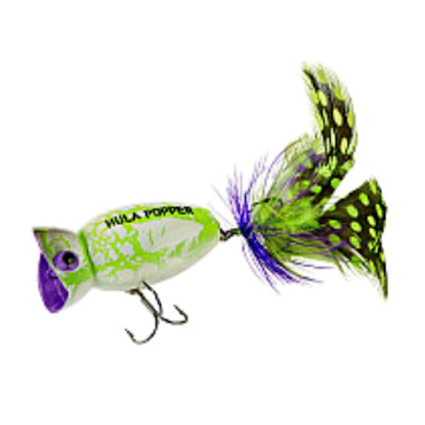Arbogast Hula Popper 2.0 Topwater Fishing Lures