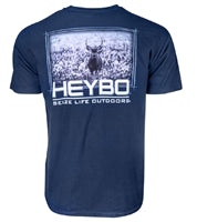 Heybo Deer in Cotton T-Shirt