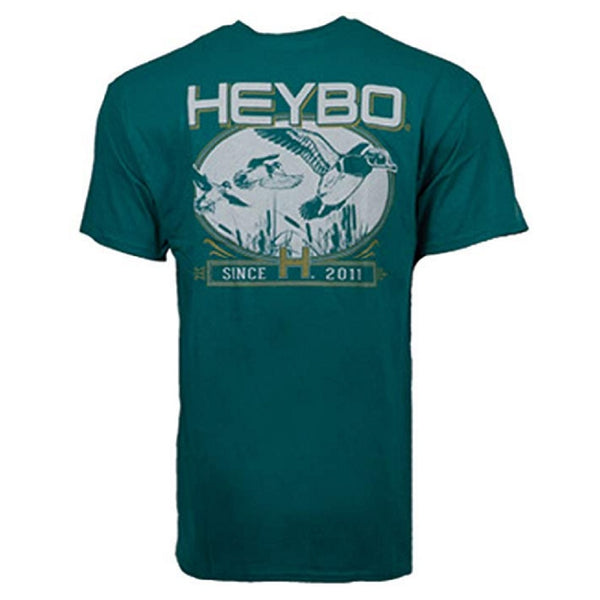 Heybo Wood Duck Emerald Vintage SS T-Shirt