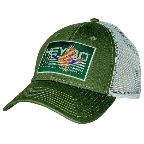 Heybo Patriotic Duck Patch Mesh Back Cap