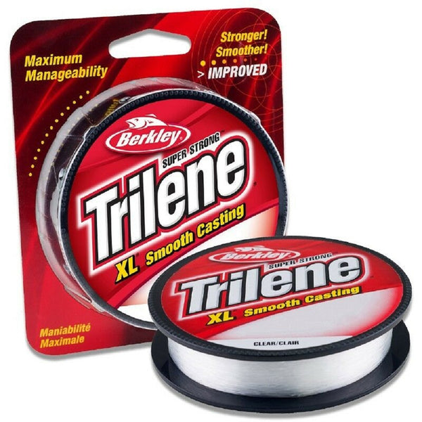 Berkley Trilene XL Smooth Casting Fishing Line - Filler Spools - Clear