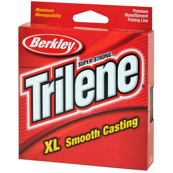 Berkley Trilene XL Smooth Casting Fishing Line - Pony Spools - Fluorescent Clear/Blue