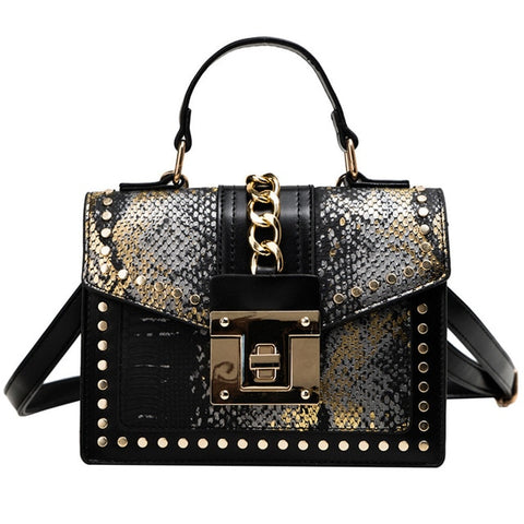 Snake Cross Body Bag
