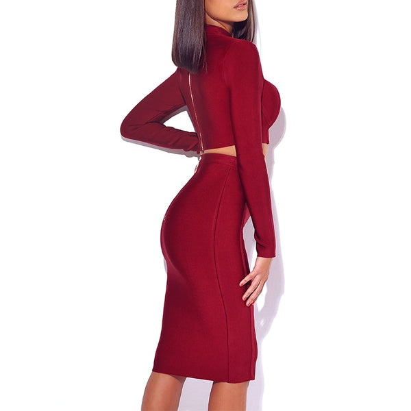 [Best Selling Women's Dresses Online]-Symmetry Bliss