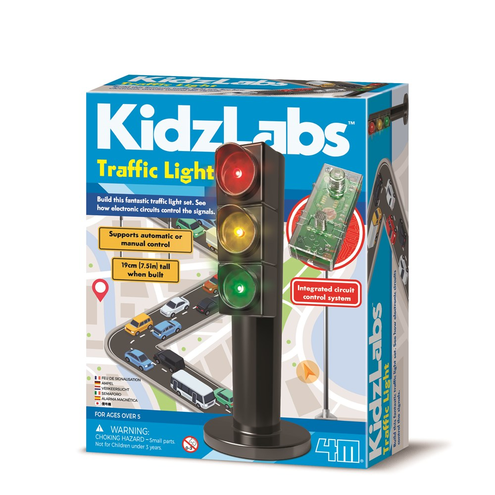 4M - KidzLabs - Traffic Control Light