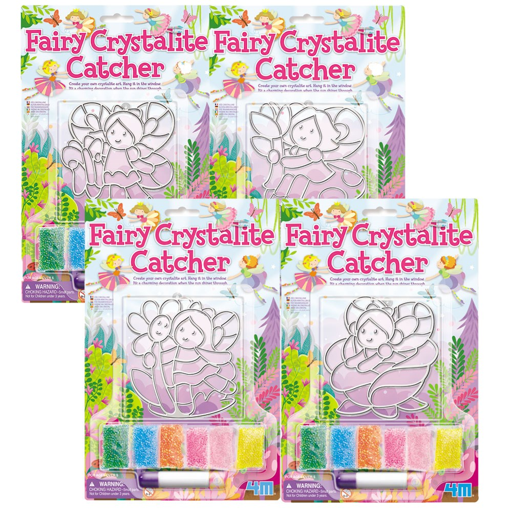 4M - Fairy Crystalite Catchers (4 Assorted)