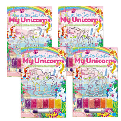4M - Unicorn Crystalite Catcher (4 Assorted)