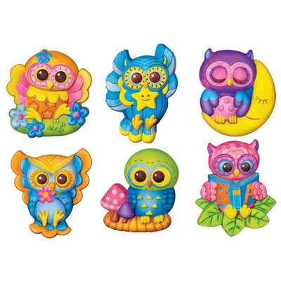 4M - Mould & Paint - Owls