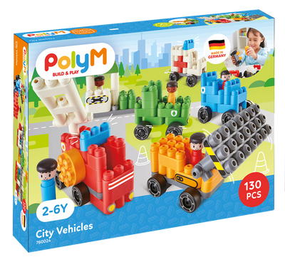 Poly M - City Vehicles Kit