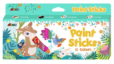 Avenir - Paint Sticks - 12 Colours