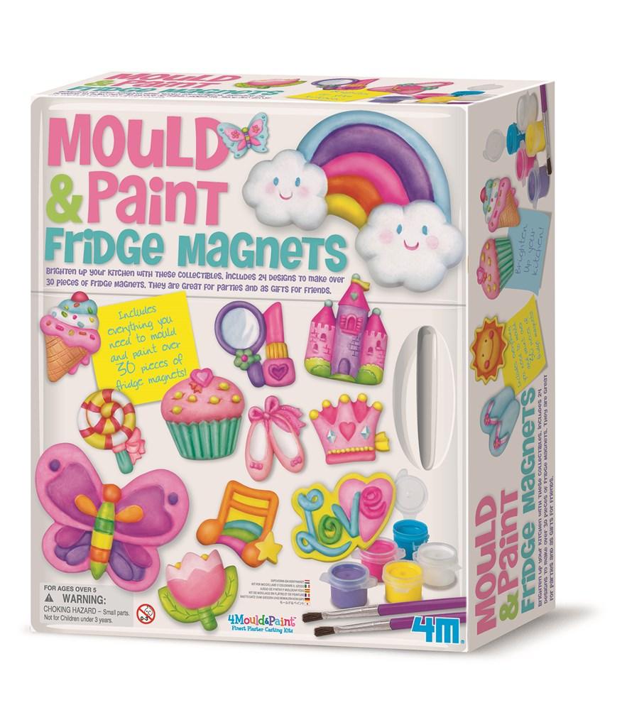 4M - Mould & Paint Fridge Magnets