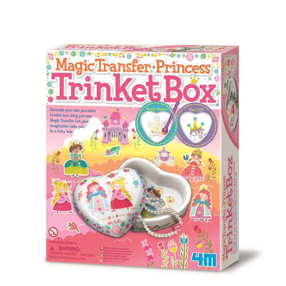 4M - Princess Trinket Box: Magic Transfer