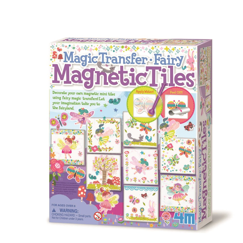 4M - Fairy Magnetic Tiles: Magic Transfer
