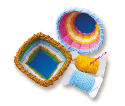 4M - KidzMaker - Basket Weaving Art